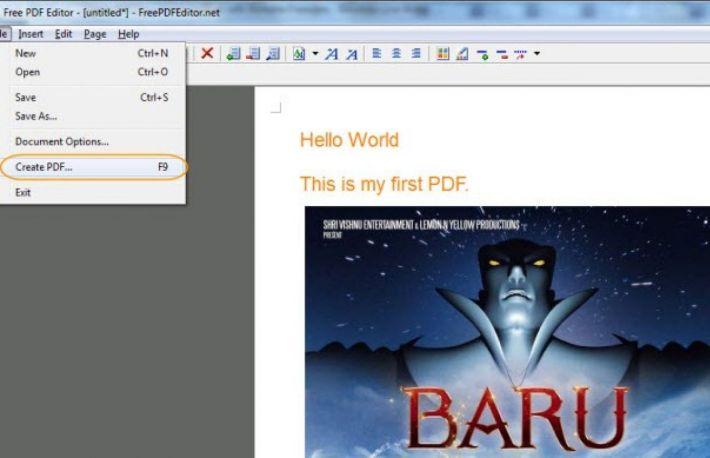 adobe acrobat pdf maker download