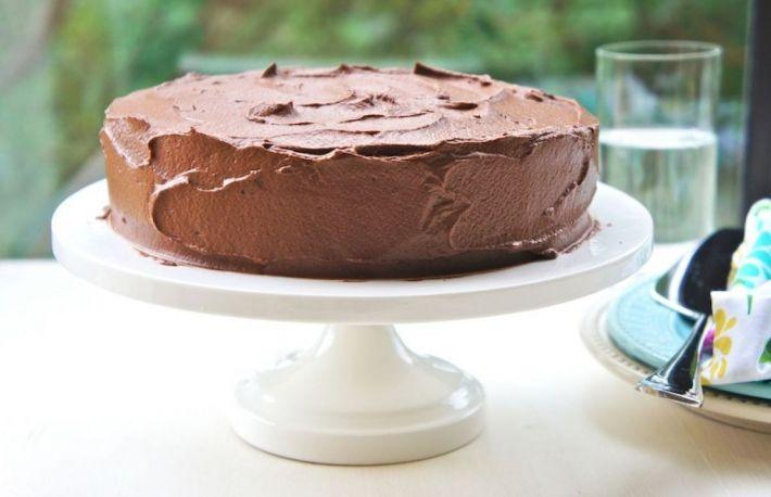 Glazura De Ciocolata Cu Unt Proaspat