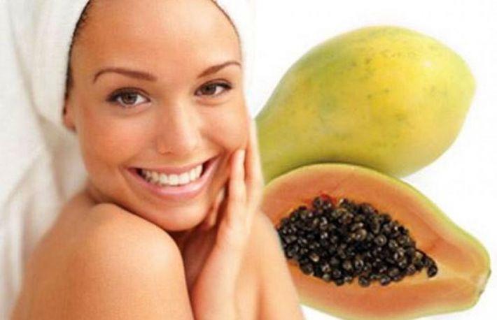 Imagini pentru papaya pentru puncte negre