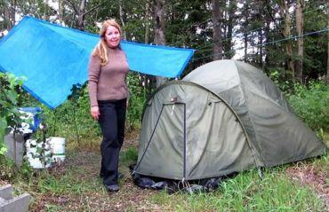 Cum sa campezi in ploaie #Cort #CampareCort