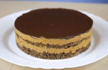 Cum sa faci tort Snickers. Nu ai nevoie de cuptor! #Tort #TortSnickers